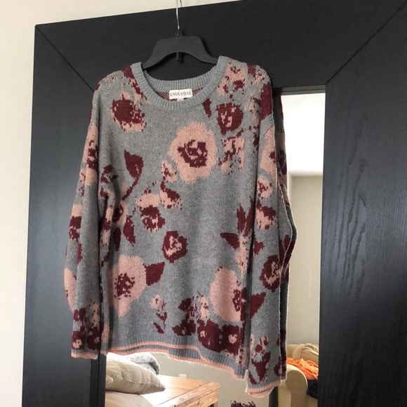 Multi Color sweater by Knox rose.
